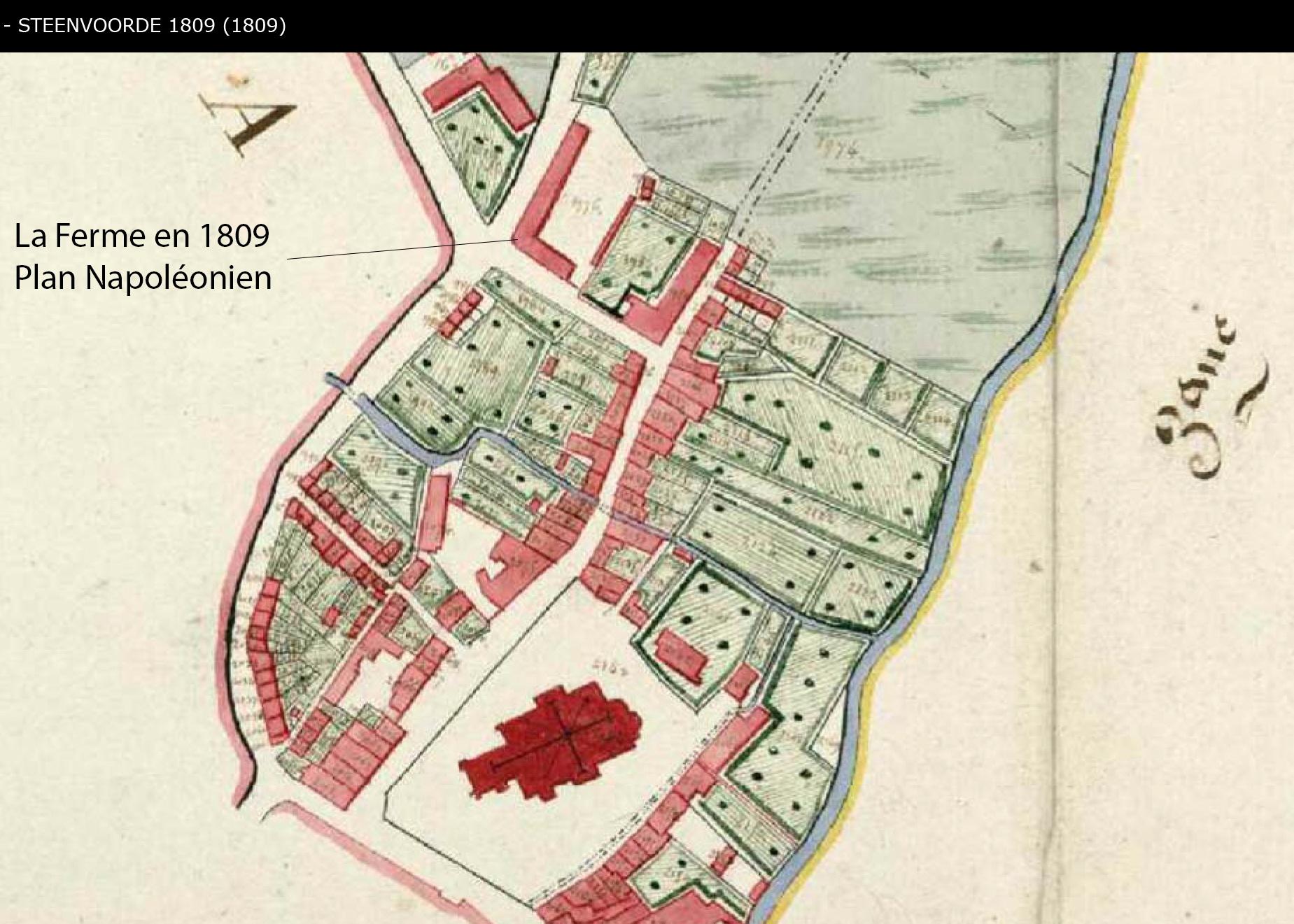 Au coeur des Hotes en 1809